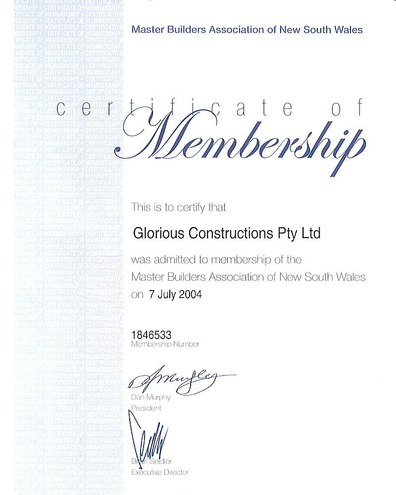 Builders license business plan